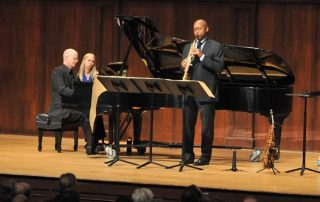 Branford Marsalis, saxophone and Ned Kirk, piano