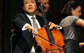 Yo-Yo Ma, cello and Kathryn Stott, piano