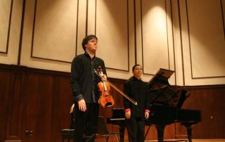 Joshua Bell, violin and Frederic Chiu, piano