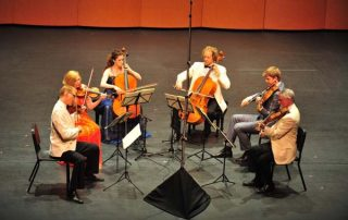 American String Quartet and Ariel Quartet