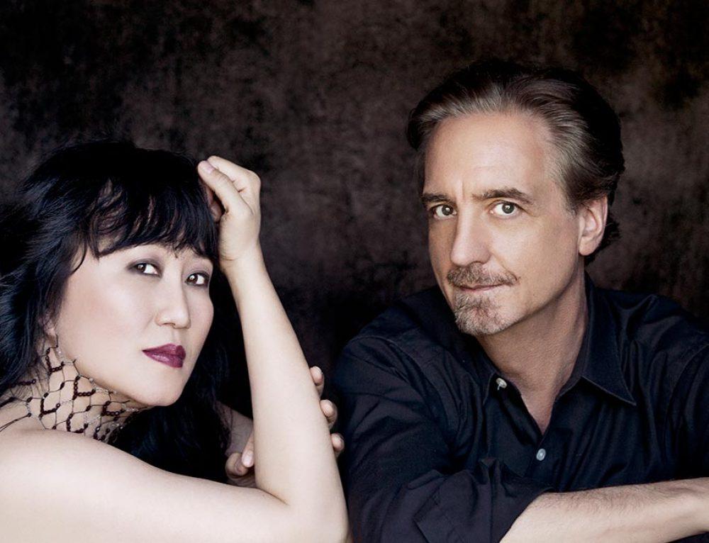 David Finckel, cello, and Wu Han, piano